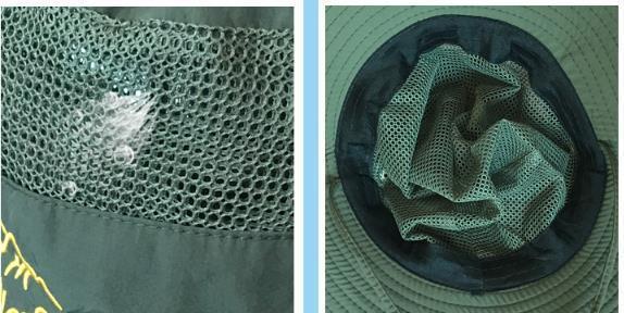 メンズ 帽子 折りたたみ アウトドアハット 登山 つば広 日除け帽子 紫外線対策 uvカット 作業 434sd_画像5