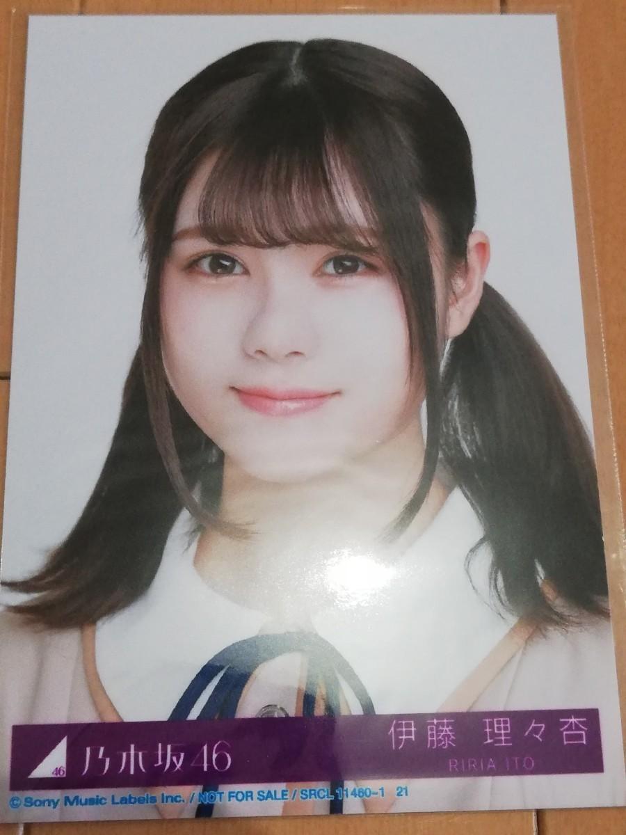 乃木坂46 生写真 伊藤理々杏 しあわせの保護色 ヨリ