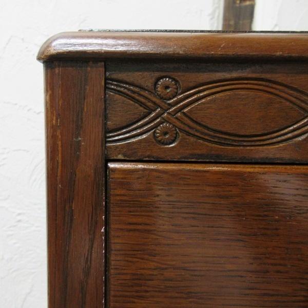 アンティーク イギリス 家具 チェスト ドロワーズ 4段引き出し タンス 飾り棚 木製 オーク 英国 CHEST 6461b_画像9