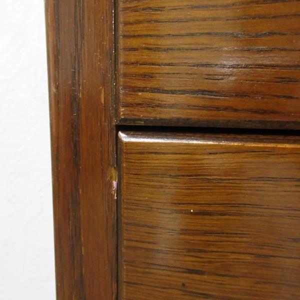 アンティーク イギリス 家具 チェスト ドロワーズ 4段引き出し タンス 飾り棚 木製 オーク 英国 CHEST 6461b_画像10