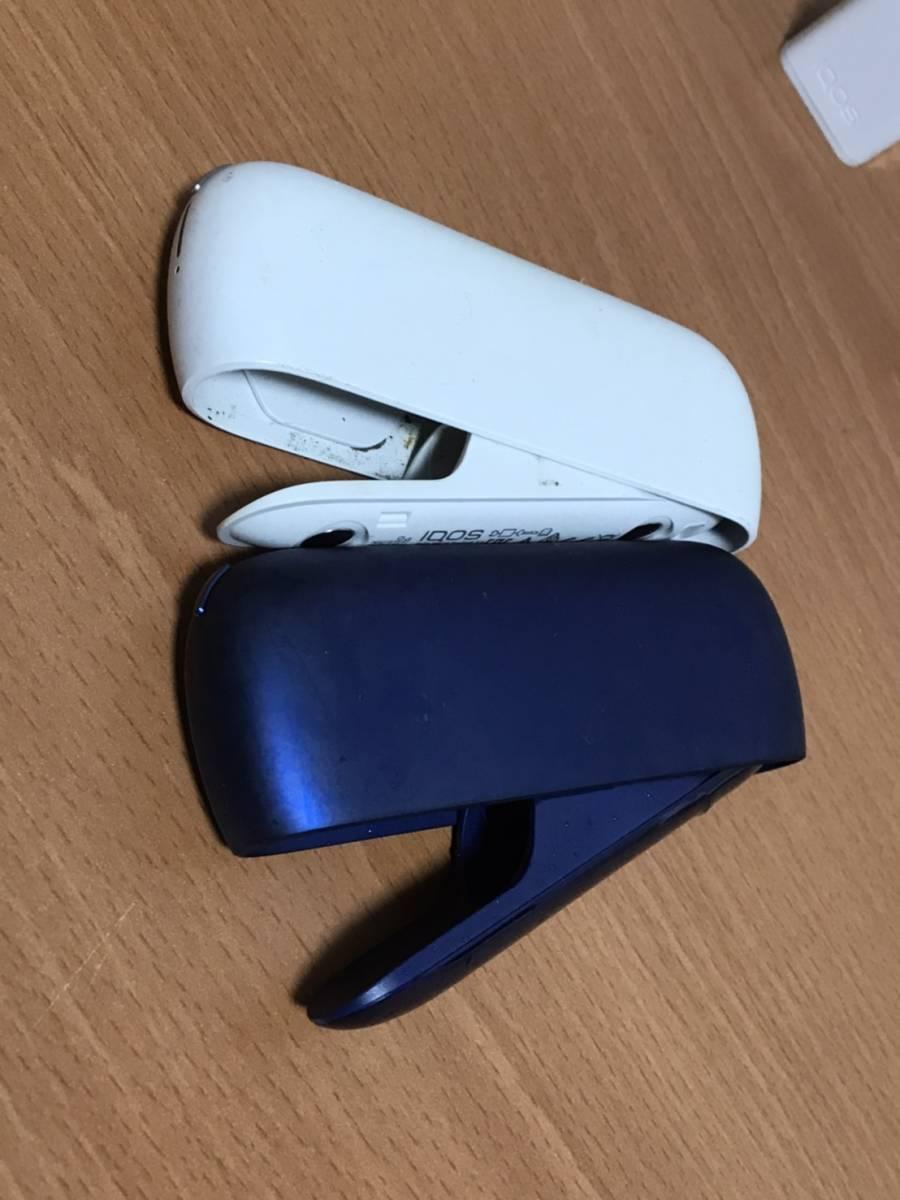 iQOS3 アイコス3 チャージャ2個(のみ)充電確認 USBケーブル5本 ACアダプタ7個 充電機 喫煙 電子タバコ_画像8