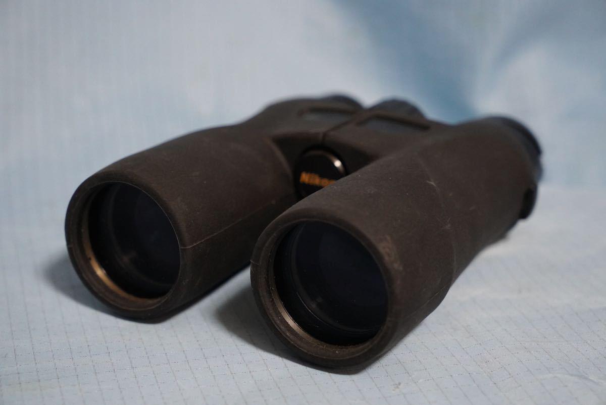 ニコン製 双眼鏡 Nikon PROSTAFF P 511 10×42 5.6° WATERPROOF 難あり ◇ ジャンク品_画像3