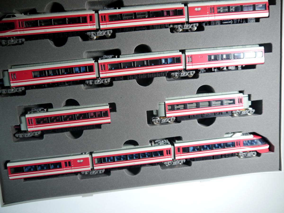 鉄道模型 Nゲージ TOMIX トミックス 92743 7000形LSE 小田急ロマンスカー 新塗装 11両セット 説明書付_画像5