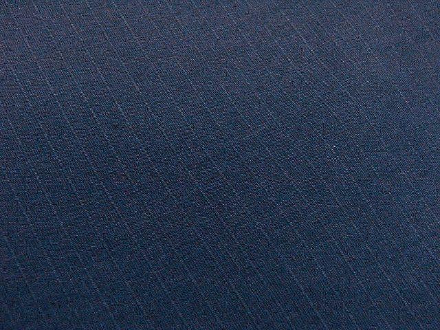 わけあり品 濃紺色地 綿100%・シャンタン生地 作務衣 LLサイズ 未使用品_画像9
