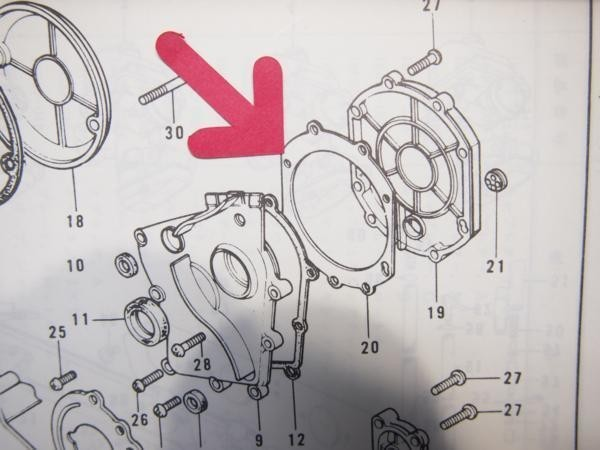 Z750FX I型 クラッチ ガスケット Z750-D2/3 Z750FX1_画像3
