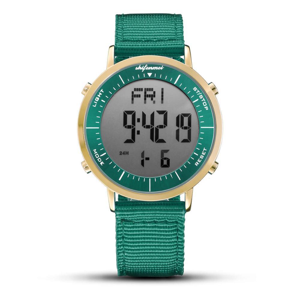 デジタル時計 男性用 メンズ スポーツ時計 防水 目覚まし時計 多機能 屋外 腕時計 アウトドア おしゃれ 3_画像1