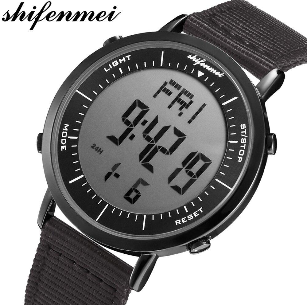 デジタル時計 男性用 メンズ スポーツ時計 防水 目覚まし時計 多機能 屋外 腕時計 アウトドア おしゃれ 3_画像2