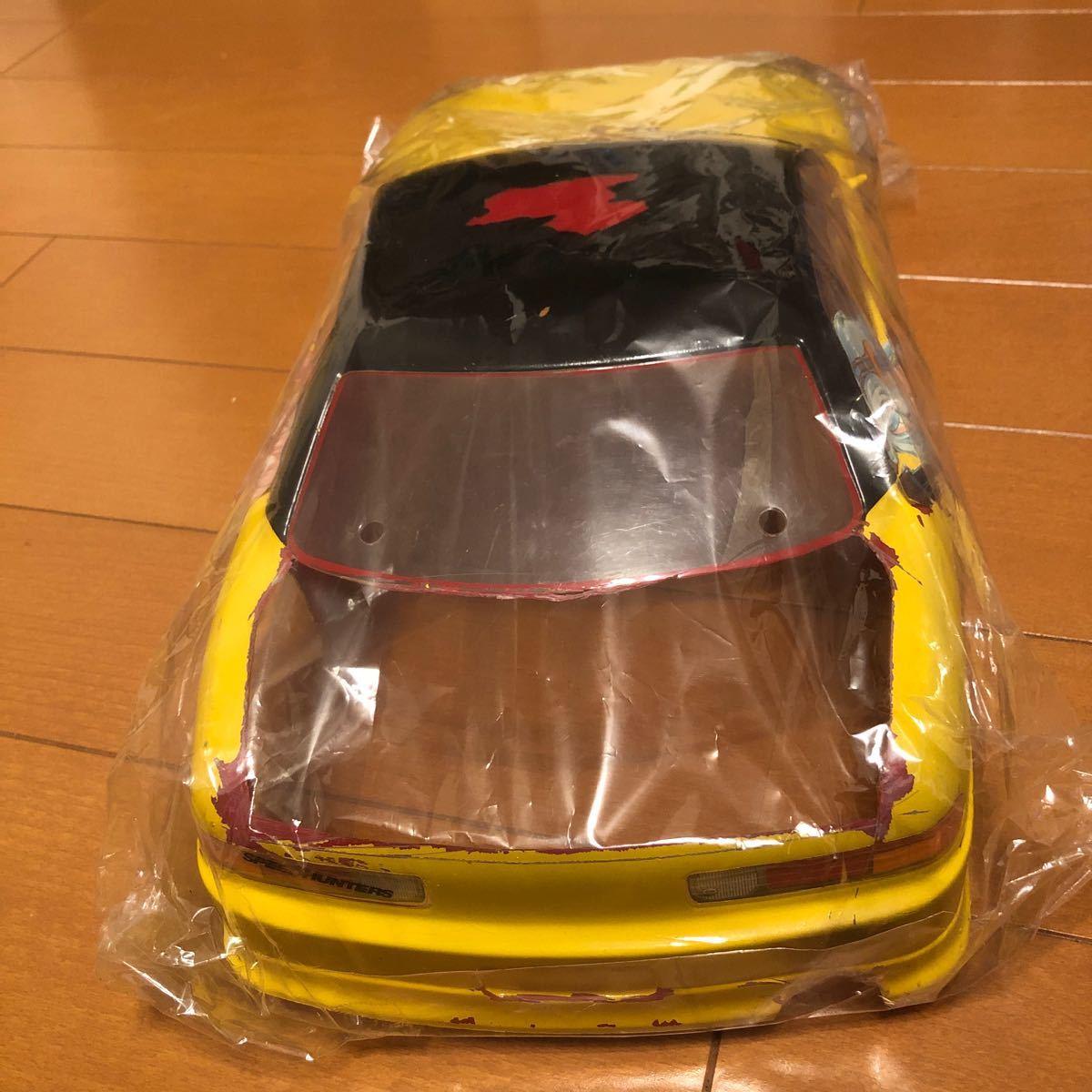 ラジコン  ジャンク ボディ トヨタ ソアラ