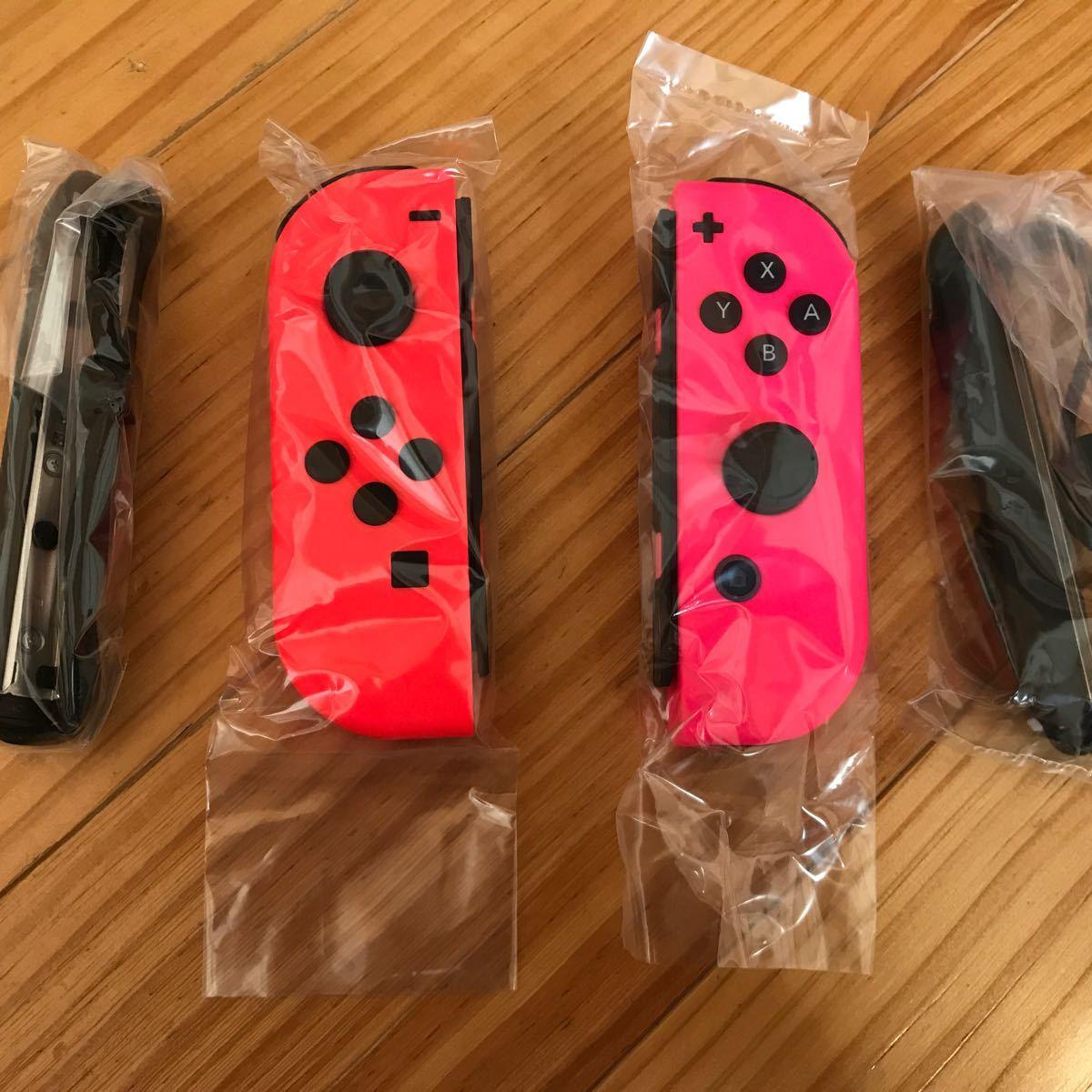 Nintendo Switch ネオンレッド &ネオンピンク
