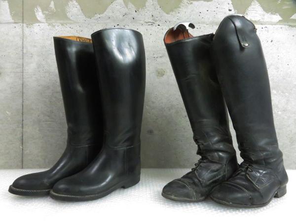 interstyle ライディングブーツ 乗馬ブーツ 表記サイズ36 / AIGLE 934 XL ロングブーツ 計2点 管理靴21012AV_画像1