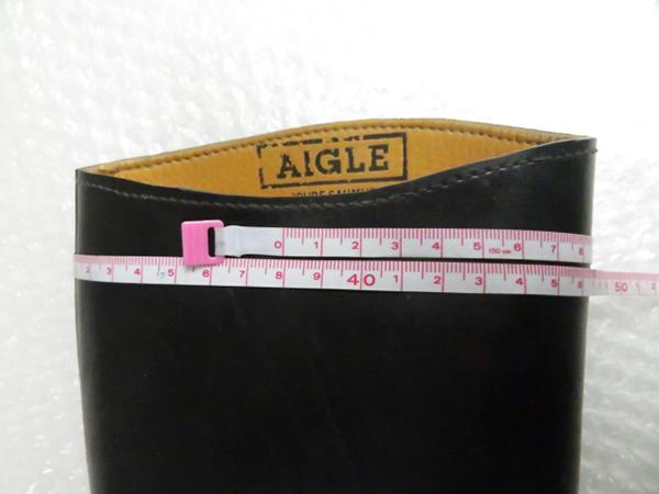 interstyle ライディングブーツ 乗馬ブーツ 表記サイズ36 / AIGLE 934 XL ロングブーツ 計2点 管理靴21012AV_画像9