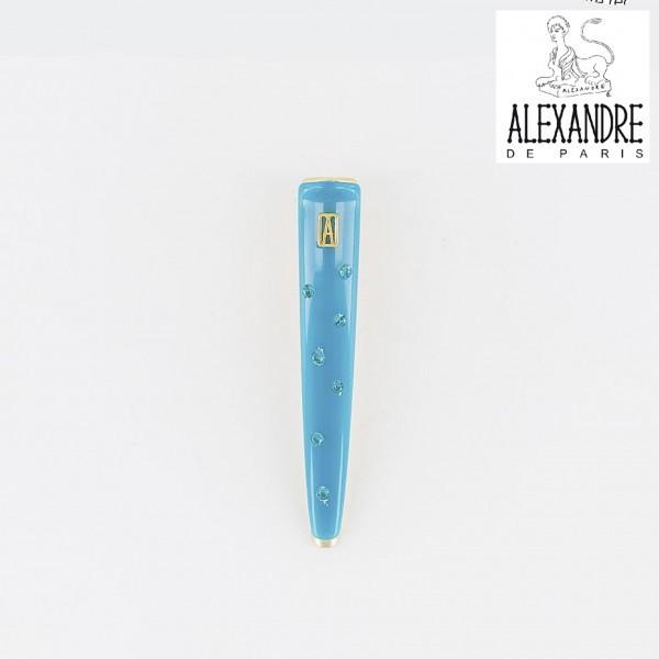 ★新品★Alexandre de Paris★Vendome全面ストーンクリップS★アレクサンドルドゥパリ_同カラー別出品しています