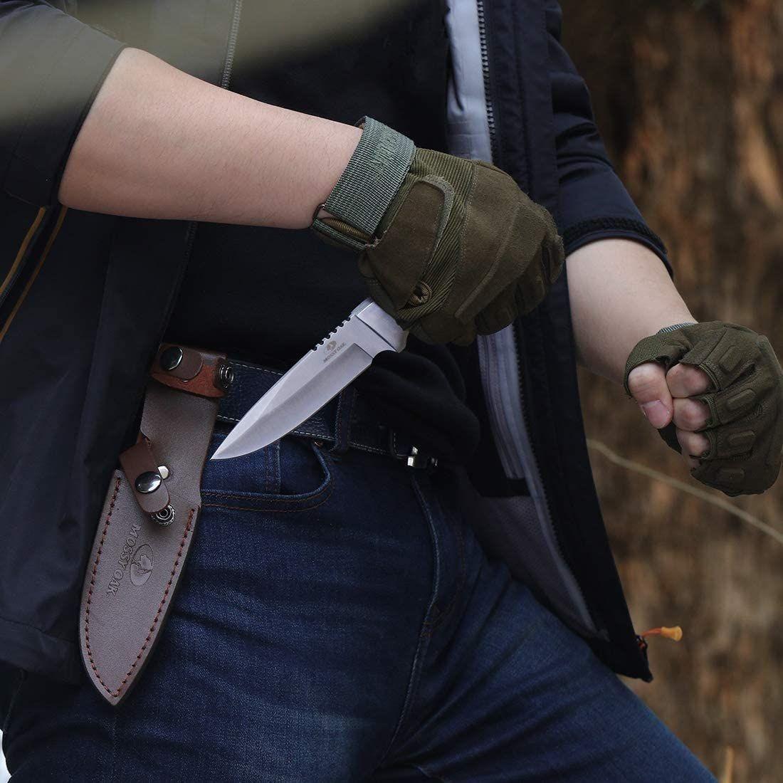 MOSSY OAK シースナイフ サバイバルナイフ 全長225mm アウトドア