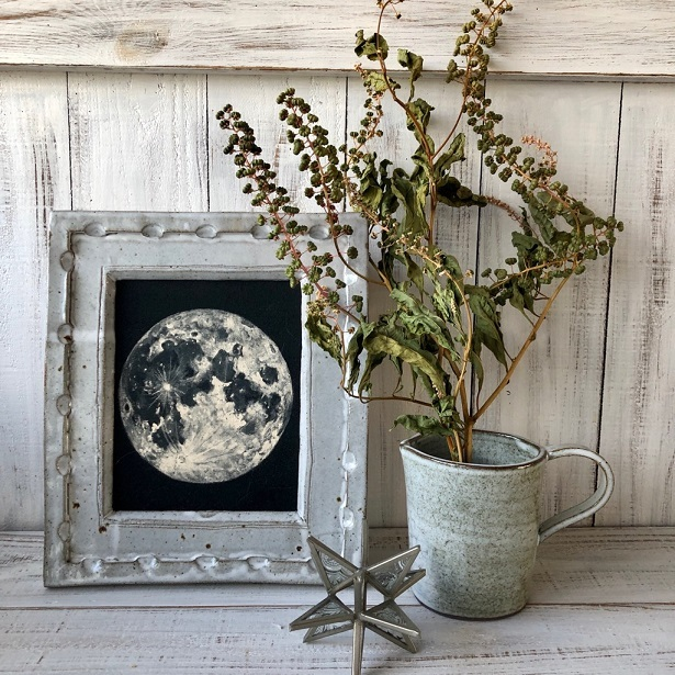 ヨウシュヤマゴボウの実付き枝 3本セット ドライフラワー花材 リース スワッグ そのままインテリアなどに 星月猫_画像5