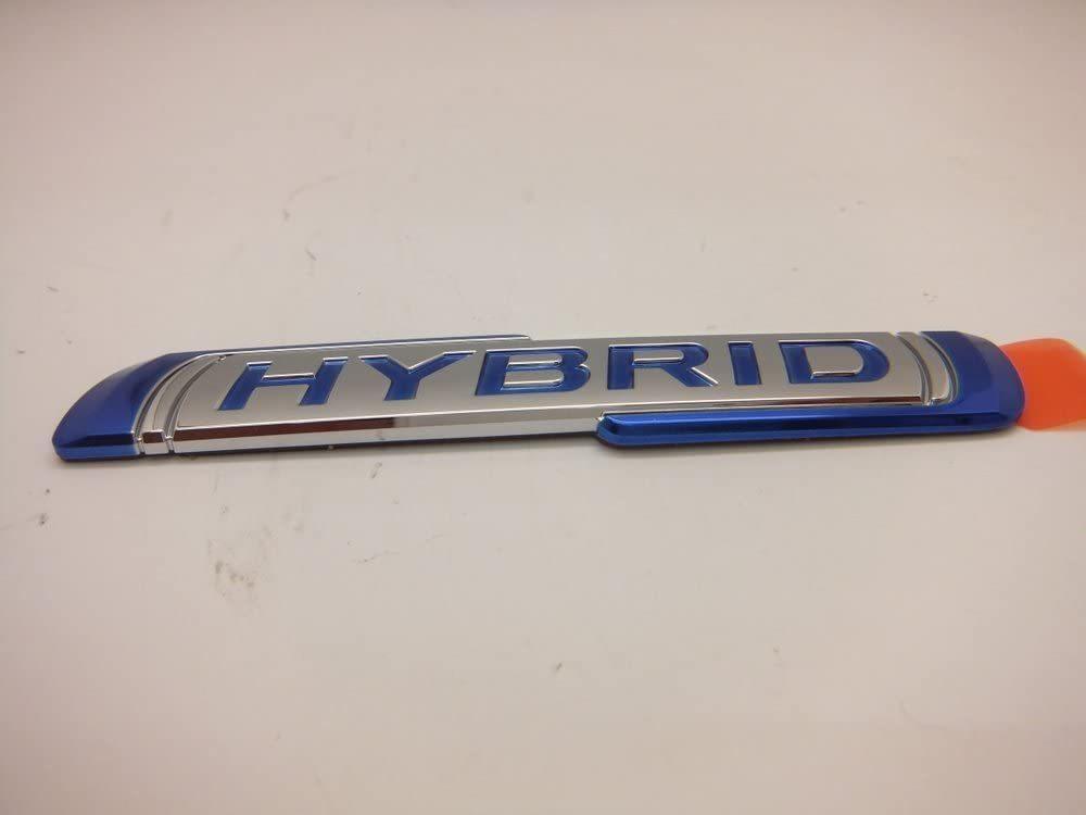 スズキ ハスラー(MR52S,MR92S)サイド ハイブリッド HYBRID ブルー1ヶ_画像2