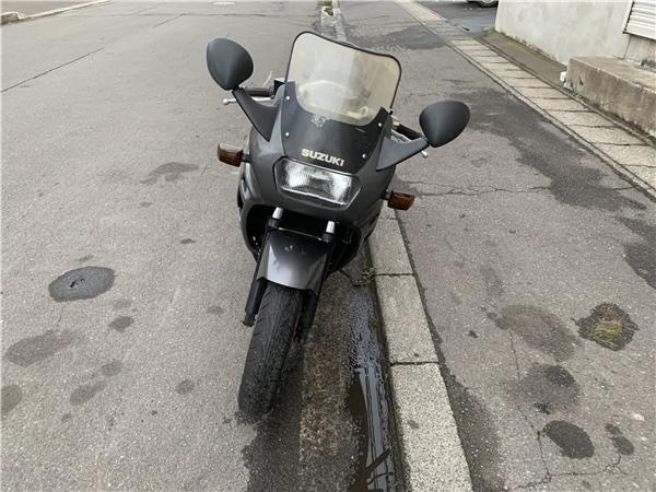 「青森発 S63 スズキ バイク GSX-F GK74A 始動確認済み セルスタート 返納証明/譲渡書あり 売切!!」の画像3