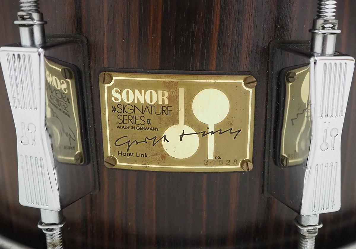 【本モノ】江島啓一[サカナクション]使用 80s SONOR Signature Series HLD-581 14×6.5インチ_画像5