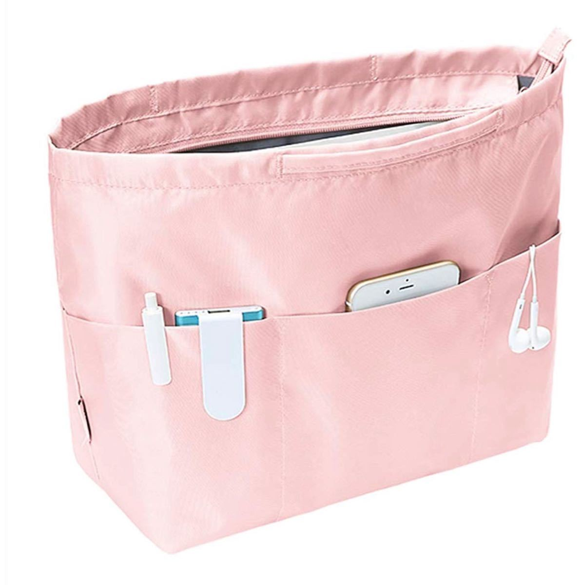 より高い型 バッグインバッグ  トートバック用 収納バッグインナーバッグ