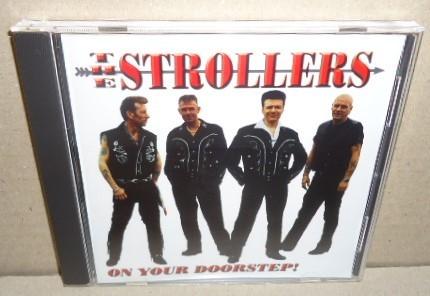 即決 THE STROLLERS ON YOUR DOORSTEP! 中古CD ネオロカビリー ネオロカ テッズロックンロール 50's Teds ROCKABILLY R&R ROCK'N'ROLL_画像1
