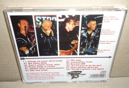 即決 THE STROLLERS ON YOUR DOORSTEP! 中古CD ネオロカビリー ネオロカ テッズロックンロール 50's Teds ROCKABILLY R&R ROCK'N'ROLL_画像3