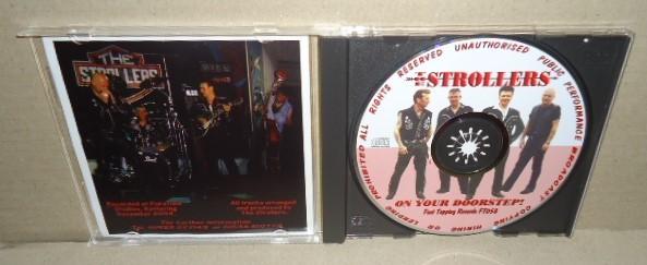 即決 THE STROLLERS ON YOUR DOORSTEP! 中古CD ネオロカビリー ネオロカ テッズロックンロール 50's Teds ROCKABILLY R&R ROCK'N'ROLL_画像2