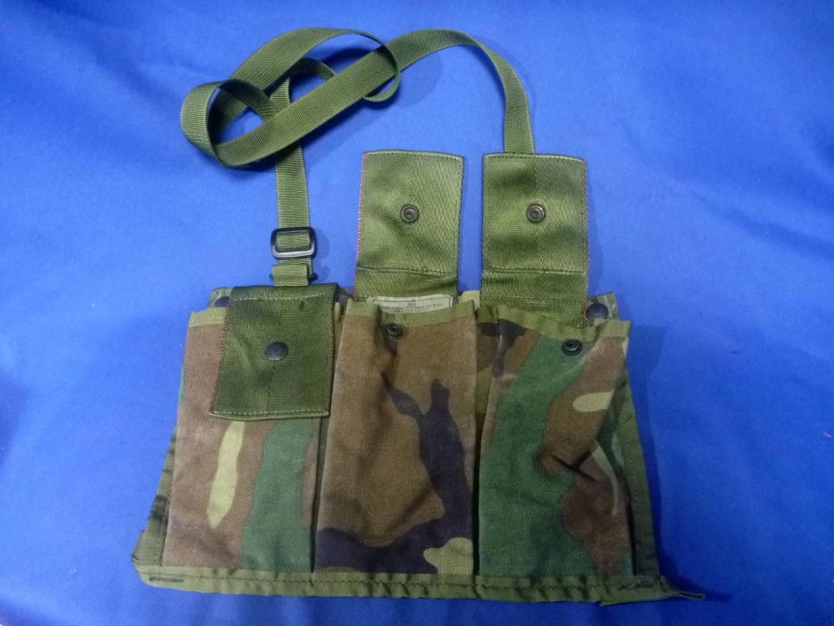米軍放出品 マガジンポーチ M16A2 未使用品 210409_画像3