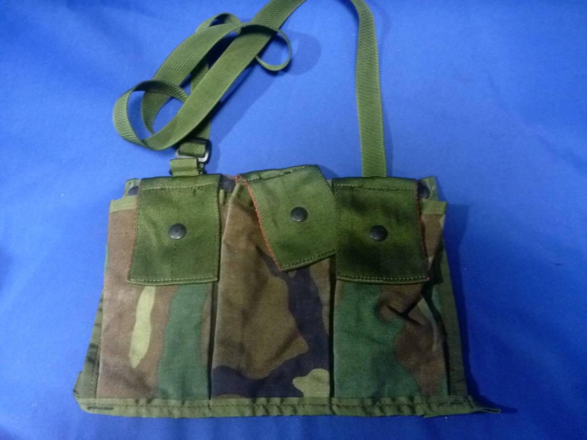 米軍放出品 マガジンポーチ M16A2 未使用品 210409_画像1