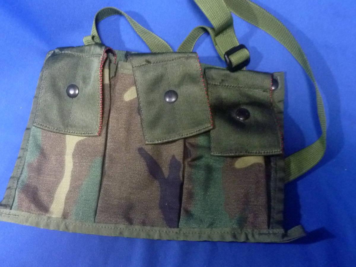 米軍放出品 マガジンポーチ M16A2 未使用品 210409_画像7