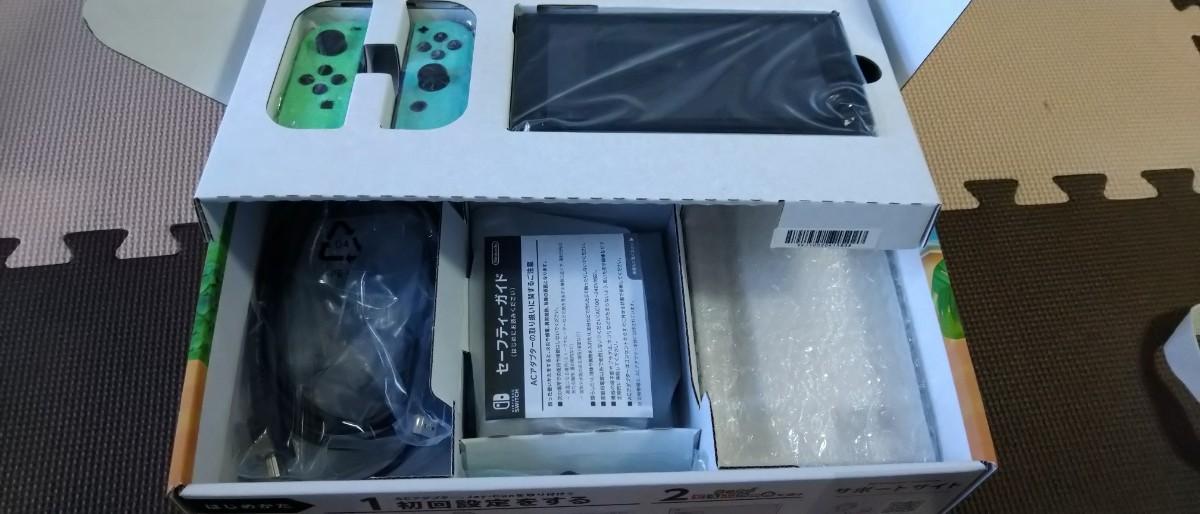 Nintendo Switch ニンテンドースイッチ 本体 どうぶつの森