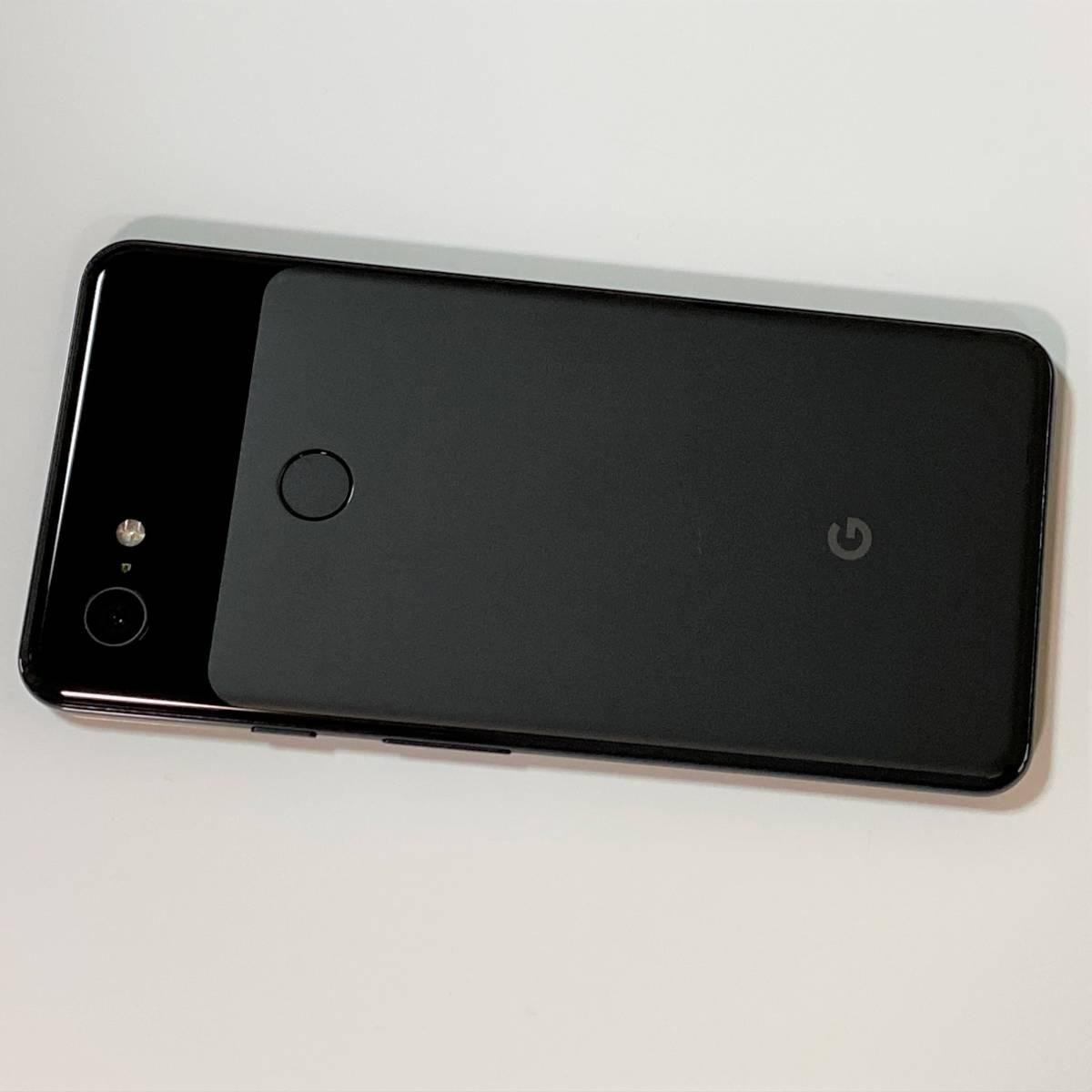 (美品) SIMフリー Google Pixel 3XL ダークブラック 64GB ソフトバンク版(SIMロック解除済) docomo 格安SIM MVNO 海外利用可能_画像7