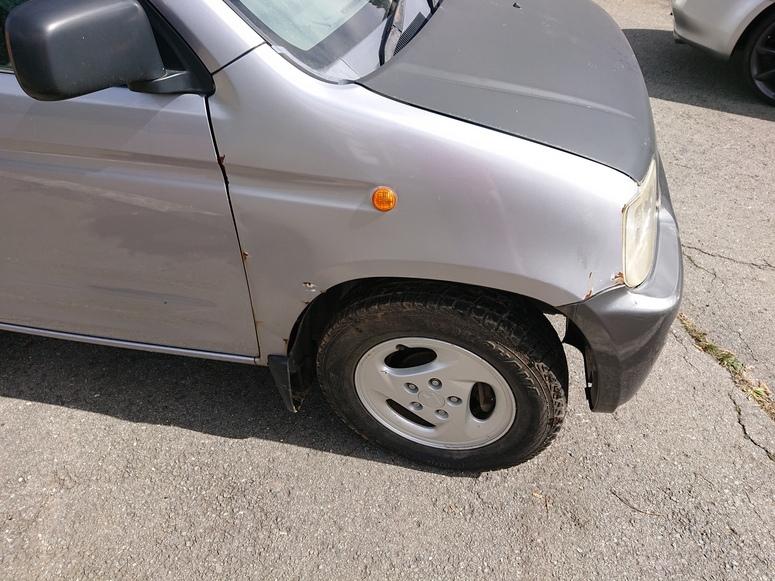 「山梨より 1度限り出品 ターボ 4WD オートマ 内装まあまあ綺麗 陸送可 」の画像3