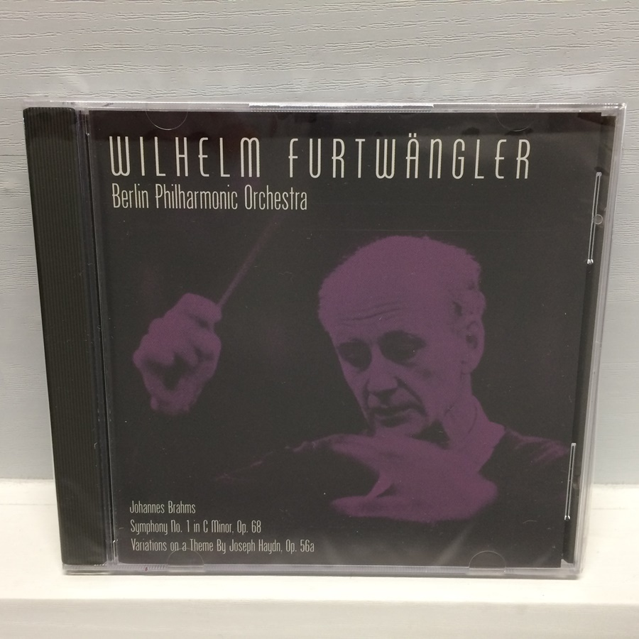 未開封 CD 交響曲第1番 フルトヴェングラー / ブラームス / ベルリンフィル / シールド ELA-902 ICR_画像1