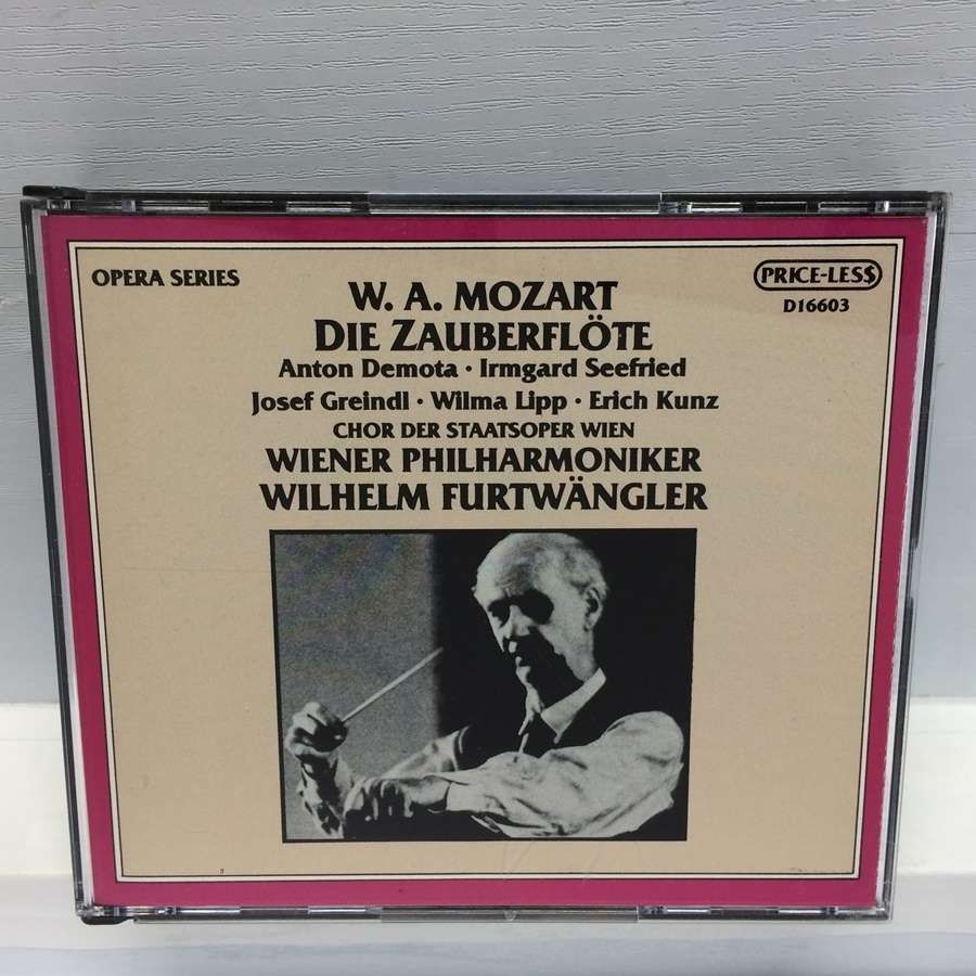 3CD MONO PRICE-LESS DIE ZAUBERFLOTE 魔笛 モーツァルト / フルトヴェングラー D16603 ICR_画像1