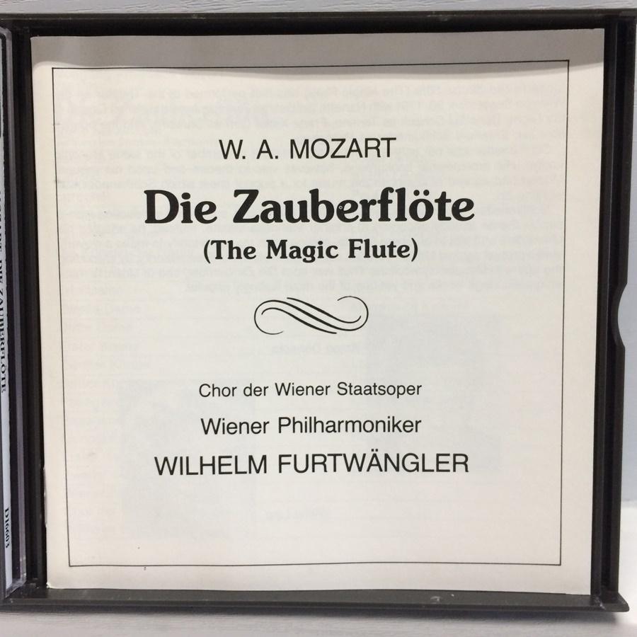 3CD MONO PRICE-LESS DIE ZAUBERFLOTE 魔笛 モーツァルト / フルトヴェングラー D16603 ICR_画像3