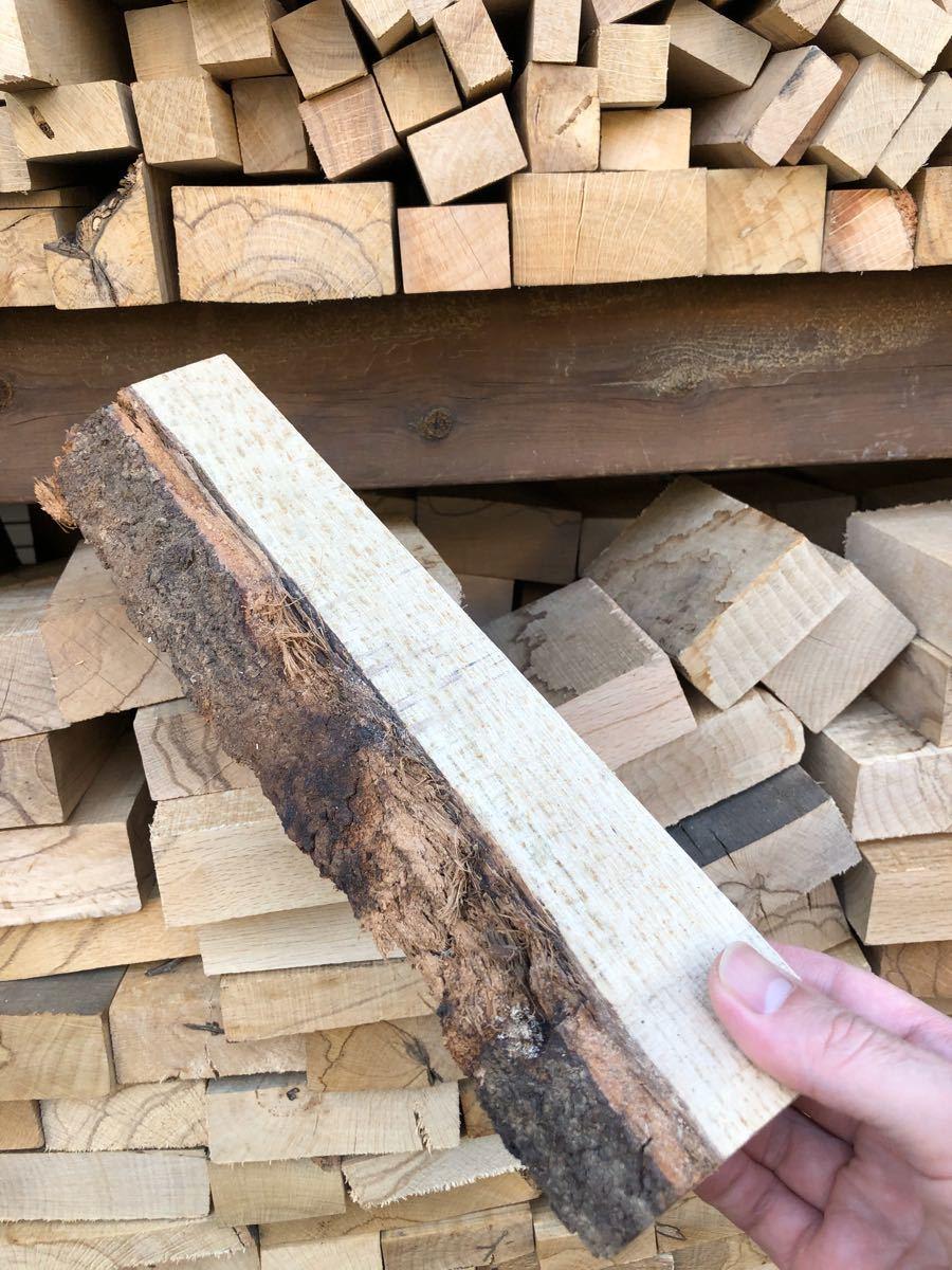 薪ストーブや焚き火等に最適 お試し樫薪20kg