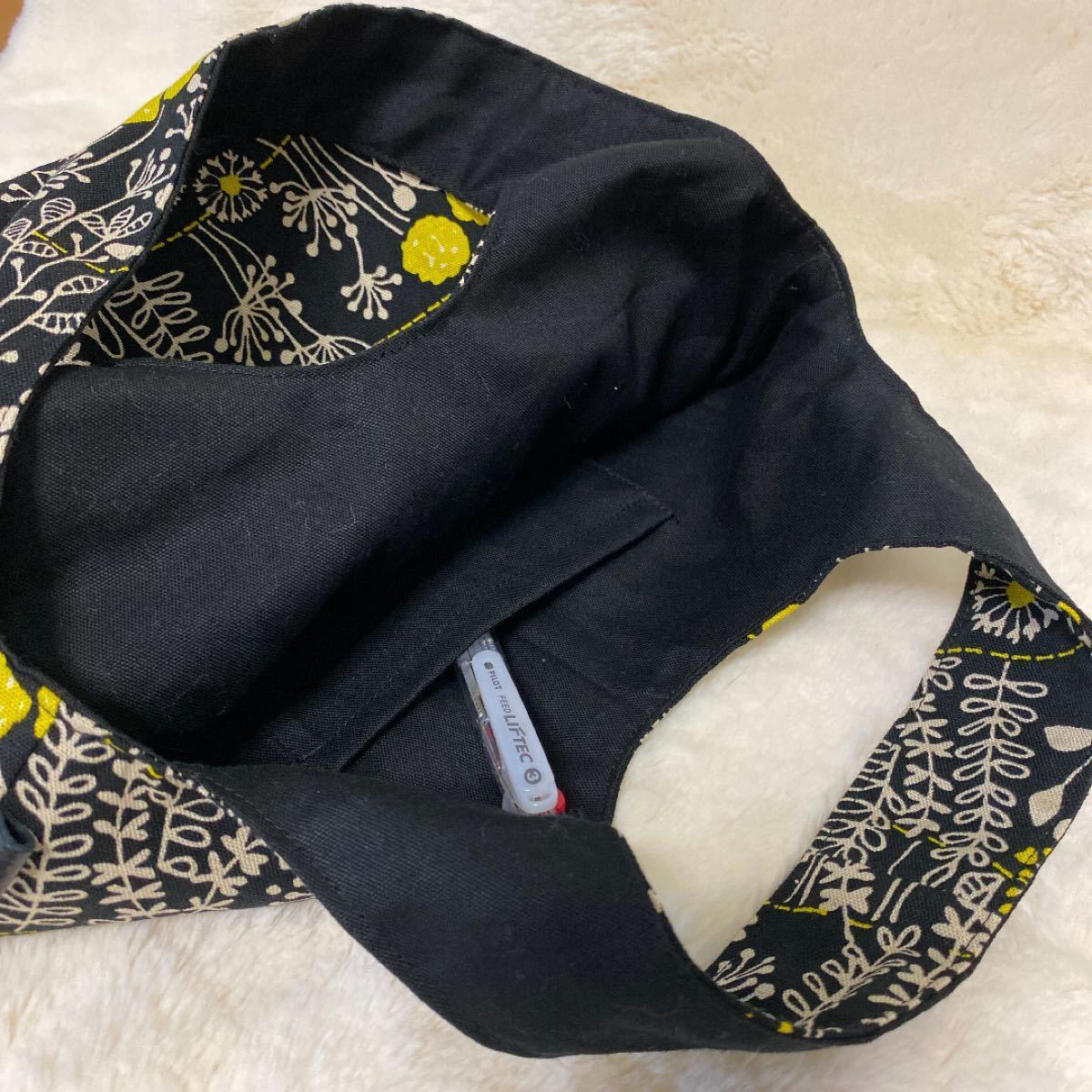 トートバック エコバッグ  帆布 ワンマイル 買い物袋 軽量