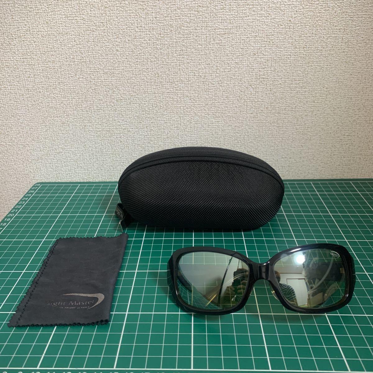 ティムコ サイトマスター セブンツーブルーPRO 青木大介モデル シルバーミラー・イーズグリーン 偏光サングラス