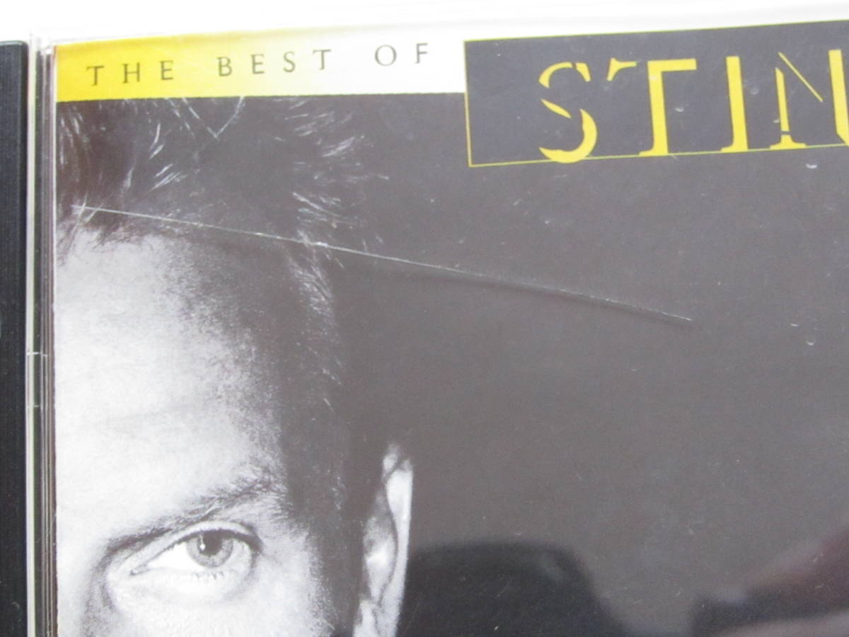CD BEST OF THE BEST フィールズ・オブ・ゴールド~ベスト・オブ・スティング