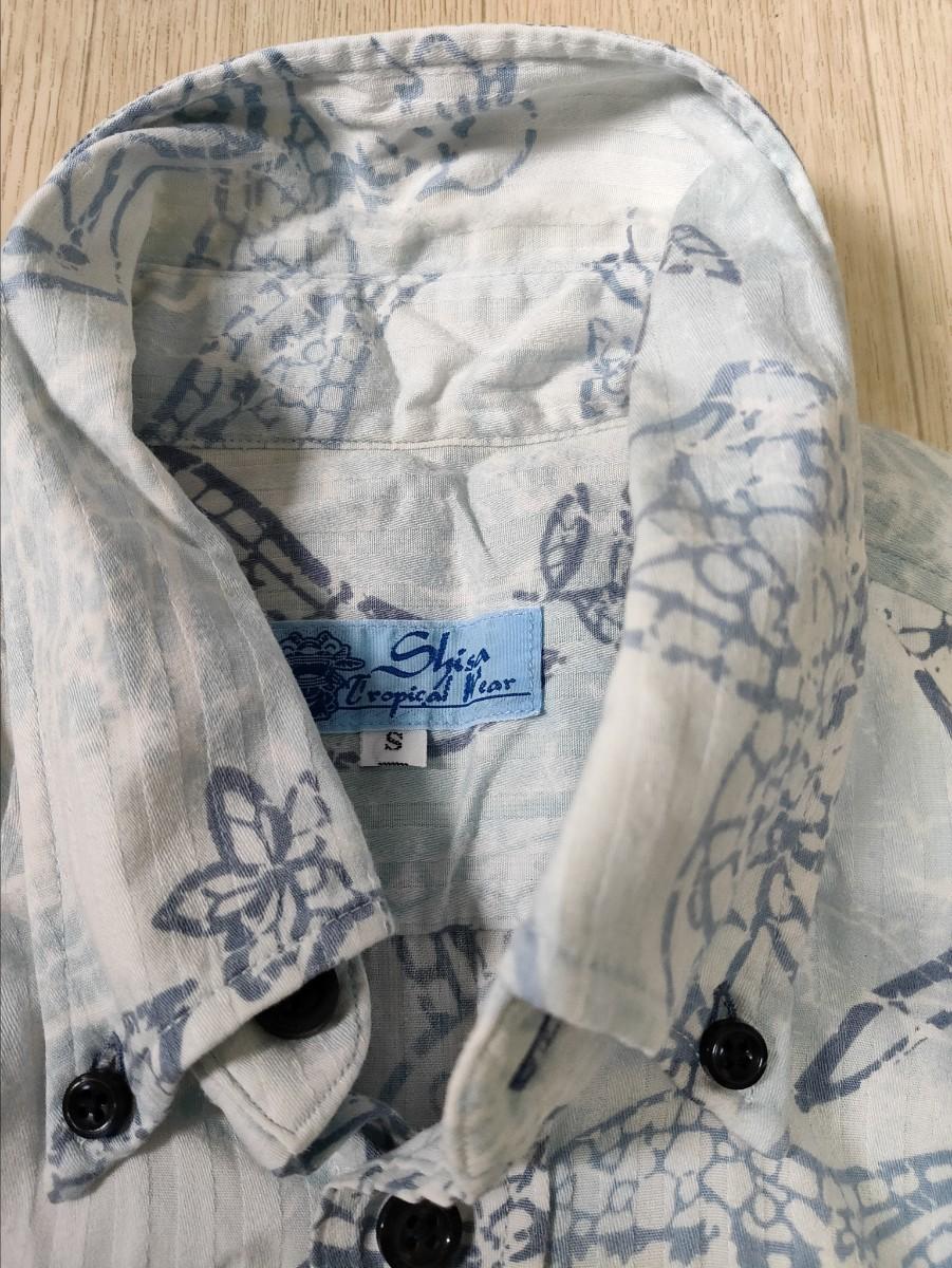 メンズシャツ メンズSサイズ かりゆしウェア 日本製