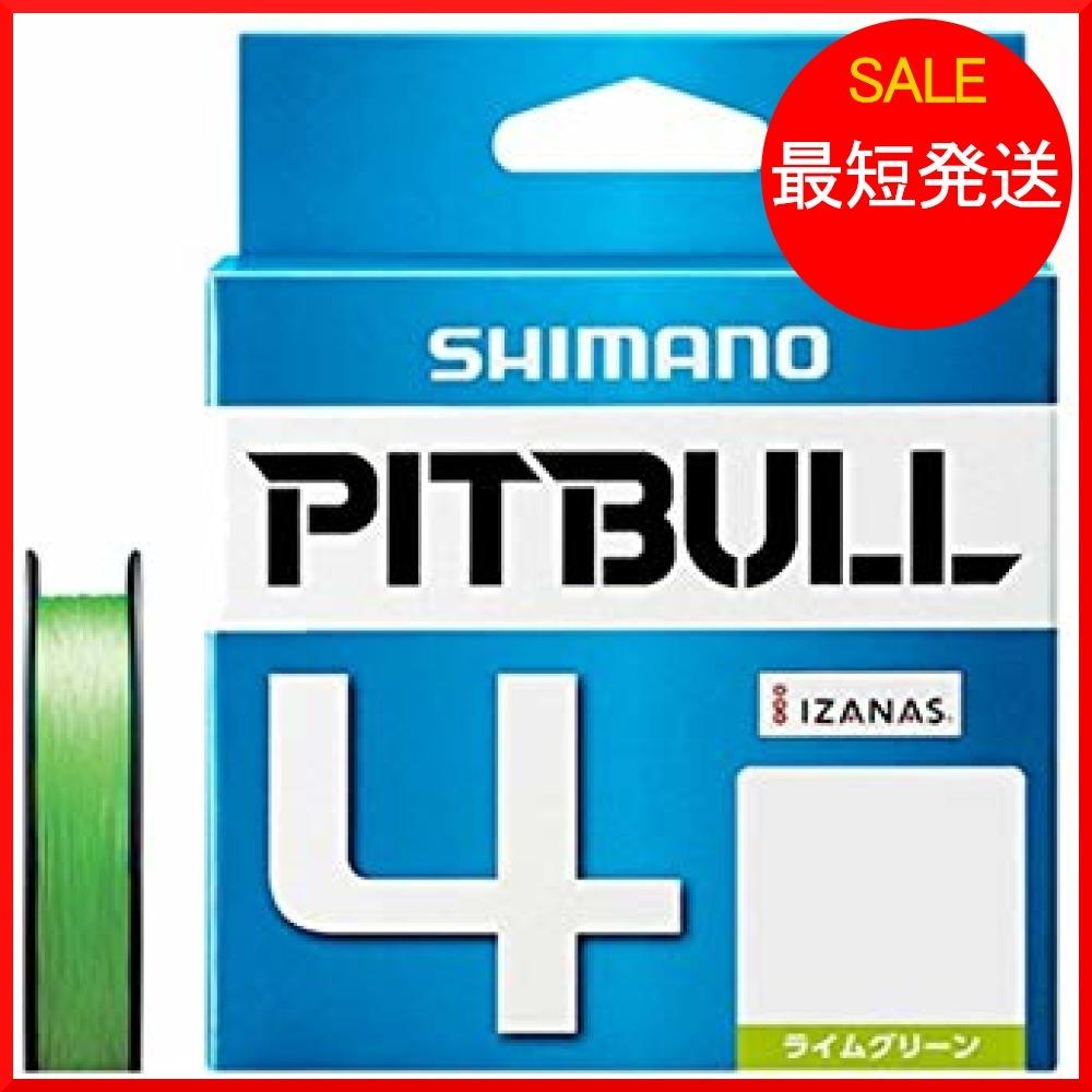 ライムグリーン 2.0号/38.7lb シマノ(SHIMANO) PL-M64R PITBULL(ピットブル)4 200m_画像1