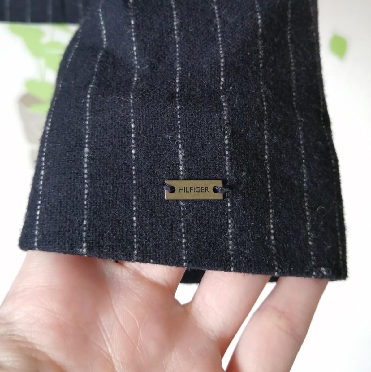 テーラードジャケット ブレザー ネイビー ストライプ トミー