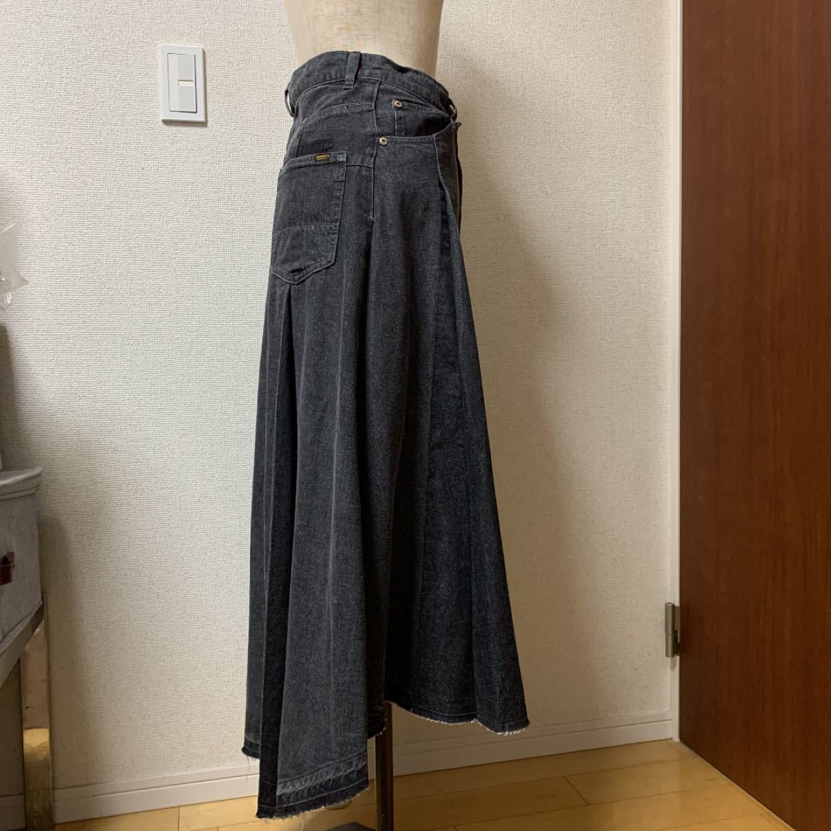 デニムロングスカート デニムスカート
