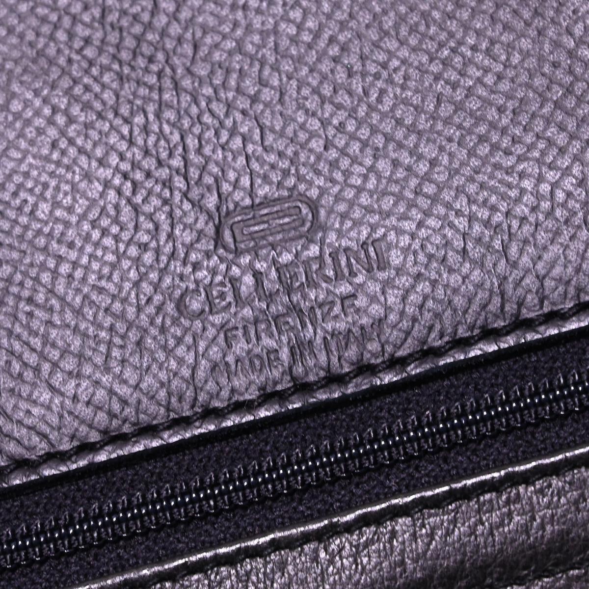 本物 チェレリーニ 極希少 ラージサイズ 2WAYフルレザー鍵付きメンズダッフルバッグ A4書類バーキン型ビジネスバッグ CELLERINI_画像9