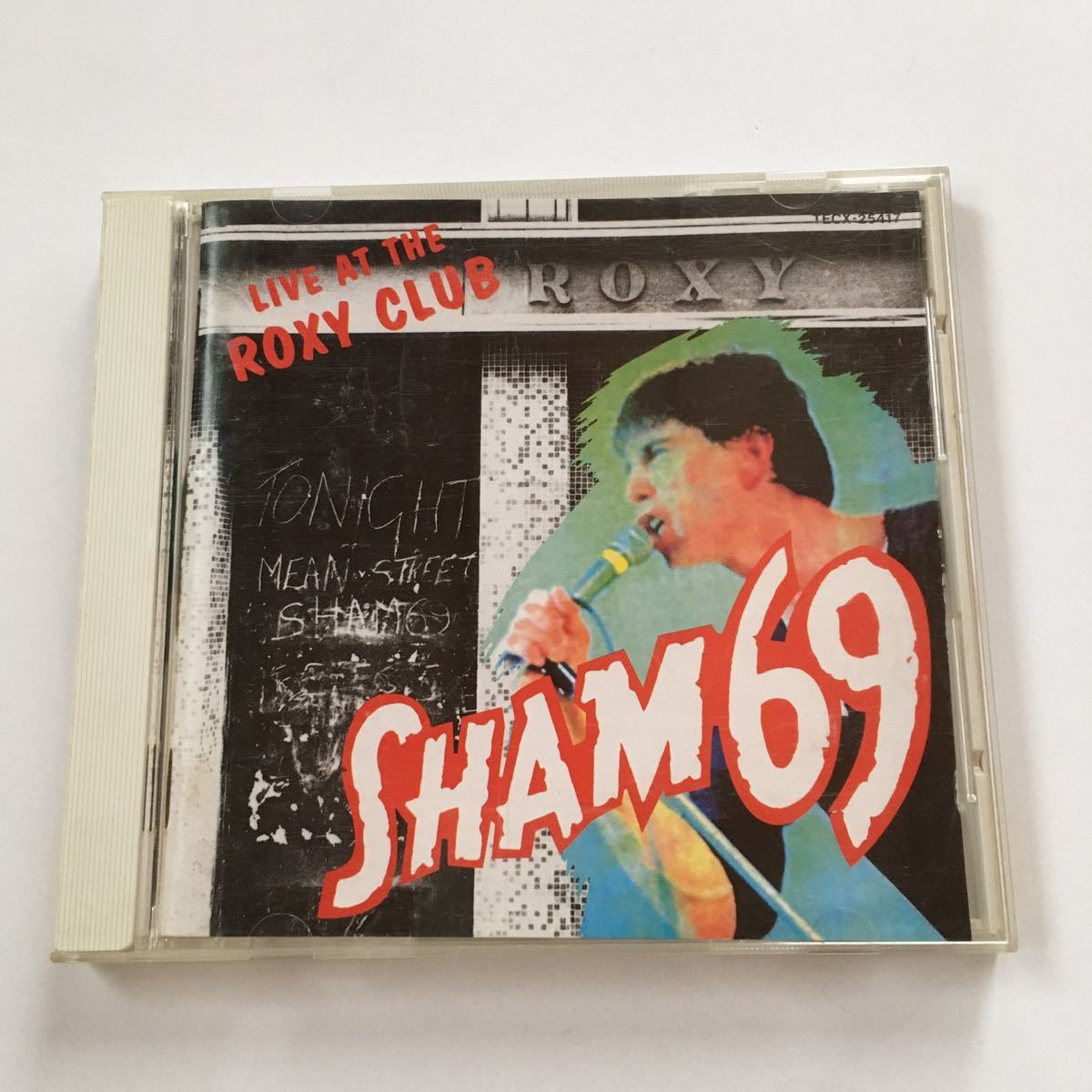 国内盤 SHAM69 LIVE AT THE ROXY CLUB U.K PUNK ROCK SEX PISTOLS DAMNED CLASH GENERATION X VIBRATORS BOYS CHELSEA 999 Jimmy Pursey