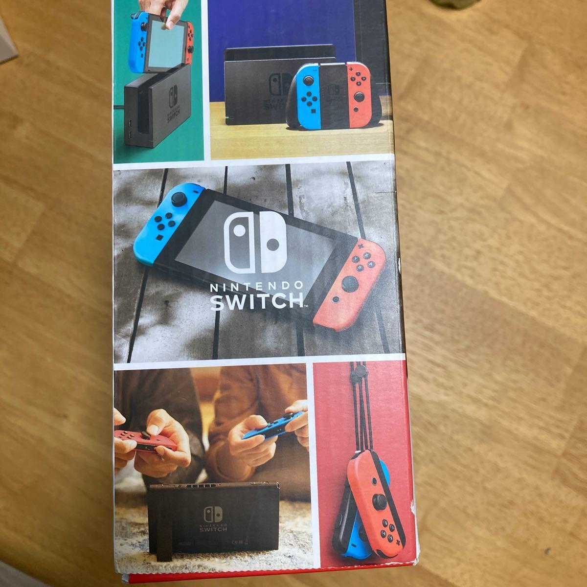 箱のみ販売 Nintendo Switch ネオンブルー ネオンレッド  の空箱