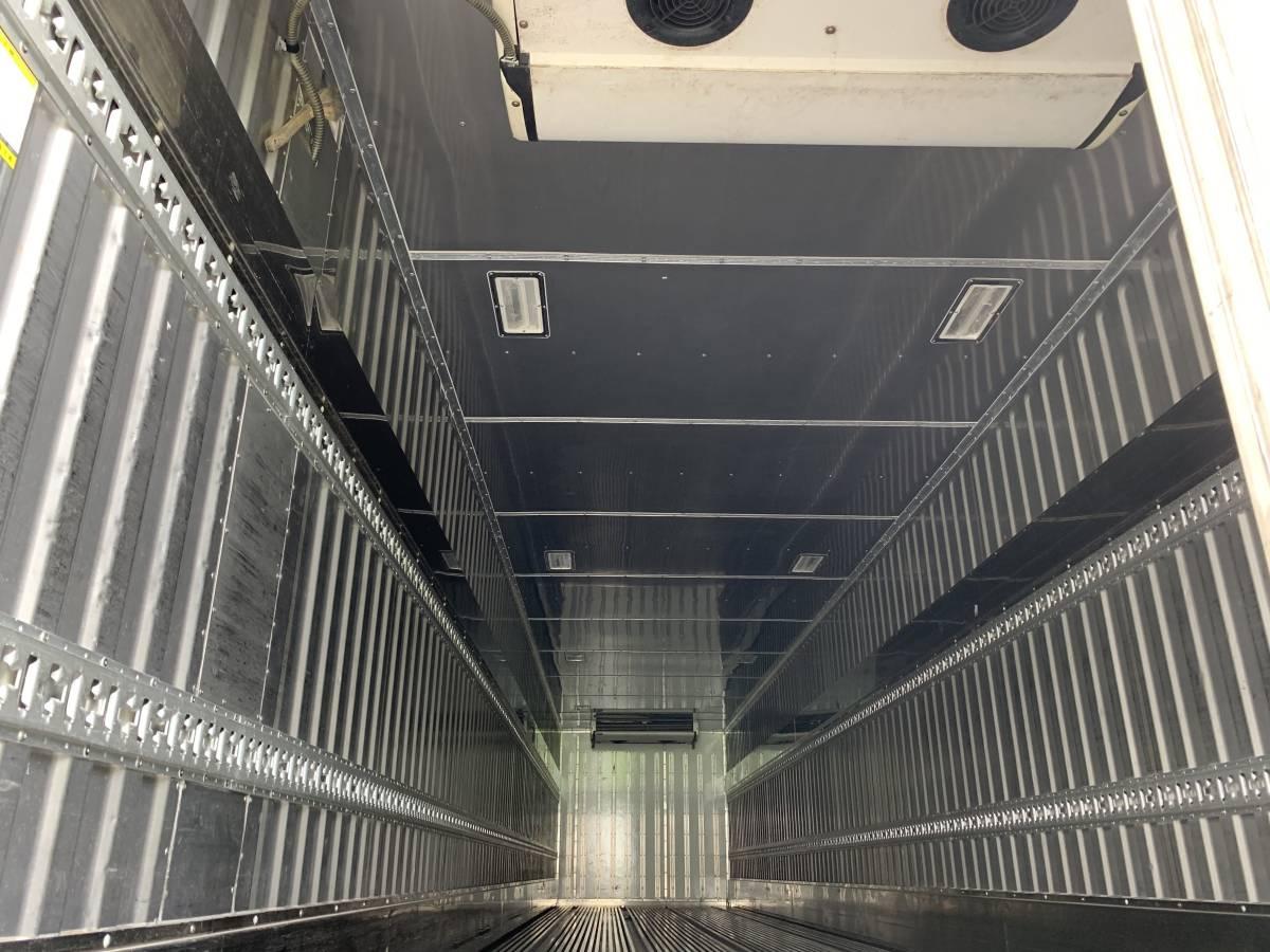 中古 H21年トレックス 冷蔵冷凍 セミトレーラ _内寸:1340mm×2280mm×2230mm