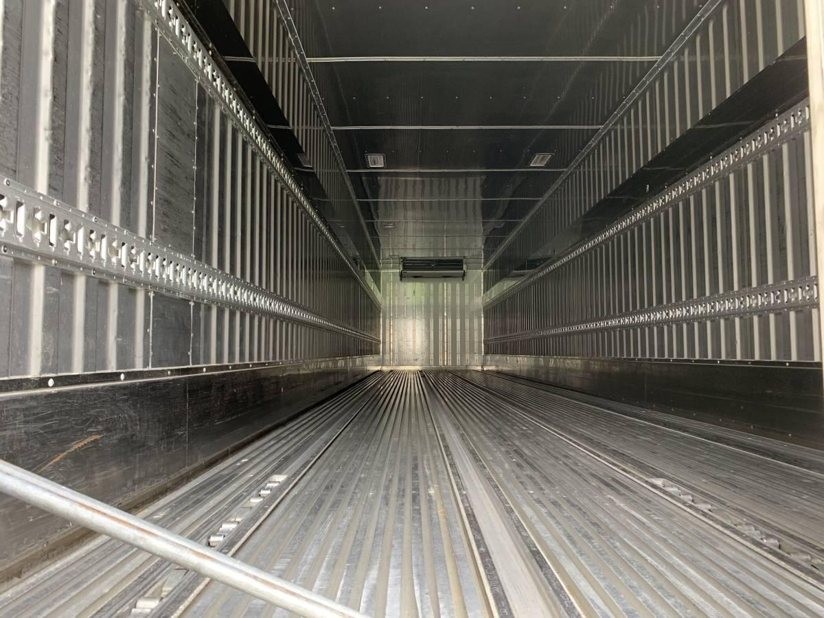 中古 H21年トレックス 冷蔵冷凍 セミトレーラ _ラッシング2段