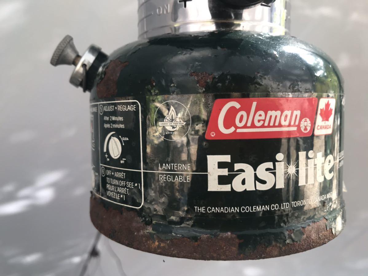 コールマン ランタン 325 カナダ 87年1月 点灯使用確認済み 希少 Coleman