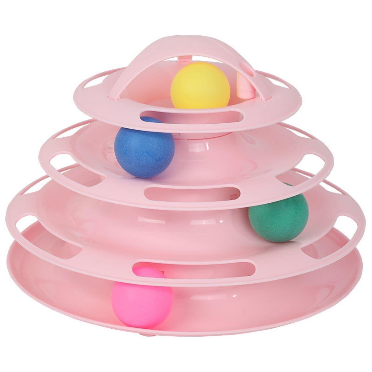 ☆猫用おもちゃ キャットボールタワー