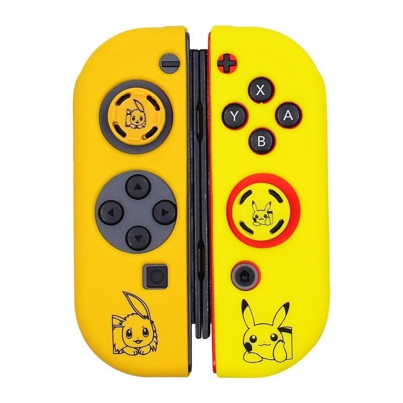 任天堂Switch ジョイコンカバー スイッチスティックカバー付きピカチュウ